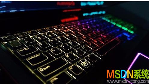 打开键盘灯